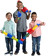 Boley Blasters Water Guns - 4 Pk 5 Barrel Super Squirt Gun Set for Kids - Pool Beach and Bath Toys