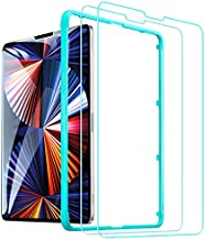 ESR (2-Pack) Glass Screen Protector for iPad Pro 12.9 [Face ID Compatible] [Free Installation Frame] 9H-Hard HD Clear Tempered-Glass Screen Protector for the iPad Pro 12.9-Inch 4th/5th Generation