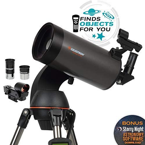 Celestron - NexStar 127SLT Computerized Telescope - Compact and Portable - Maksutov-Cassegrain Optical Design - SkyAlign Technology - Computerized Hand Control - 127mm Aperture