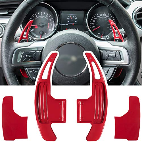 Steering Wheel Shift Paddle Extended Shifter Trim Cover for Ford...