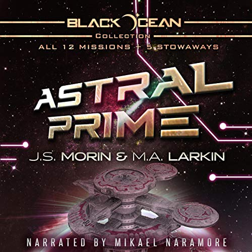 Page de couverture de Black Ocean: Astral Prime Collection