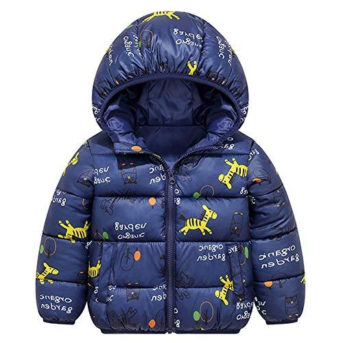Baby Jacke mit Kapuze Winter Mäntel Jungen Madchen Schneeanzüge Outfits 12-18 Monate