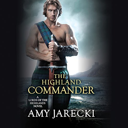 The Highland Commander audiobook cover art