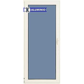 Puerta Balconera Aluminio Practicable Derecha 800 ancho x 2000 alto 1 hoja: Amazon.es: Bricolaje y herramientas