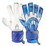 HO Soccer SSG Suprême II Roll/Negative Pacific Blue Gants de Portier Mixte Adulte Taille Unique Bleu/Blanc