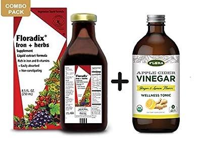 Floradix Liquid Iron and Vitamin Formula 250ml from Salus-haus