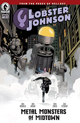 Lobster Johnson: Metal Monsters of Midtown #1 (English Edition)