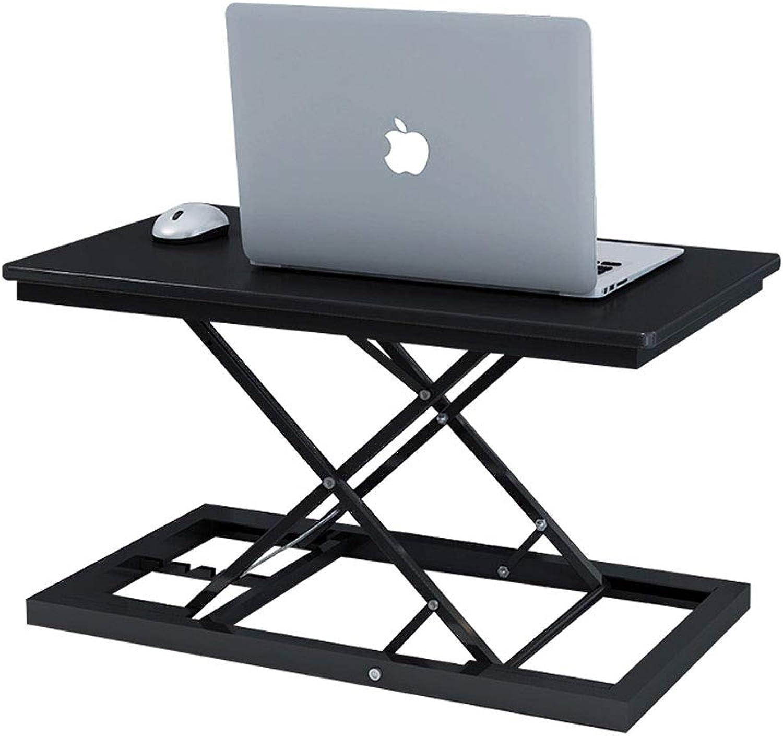 Folding Computer Desk Liftable Desk Desk Standing with Notebook Heightening Bracket Folding Workbench