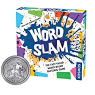 Thames & Kosmos Word Slam Party Game   Family Fun Game Night   Fast-Paced Word-Based Guessing Game   3 or More Players   Parents' Choice Silver Award Winner   Spiel Des Jahres Recommended