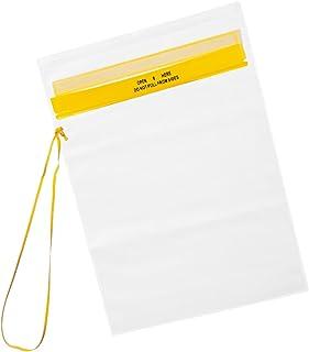 Fox Outdoor wasserdichte Dokumentenhülle, Transparent, Trageband