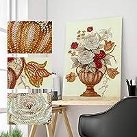 5DDIY特殊形状パーツドリルダイヤモンド絵画花動物ダイヤモンド刺繍モザイクキット家の装飾ビーズアートギフト
