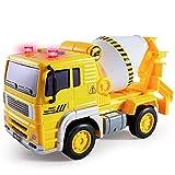 BUYGER Camion Hormigonera Juguete para Niños, Coche Juguete Grande con Luces y Sonido, Vehículo de...