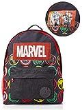 Marvel Avengers Zaino Scuola, Borse Olografiche Con Hulk, Iron Man, Captain America, Thor, Cartella per Bambini, Zainetto da Viaggio, Regalo Per I Fan Dei Supereroi Marvel