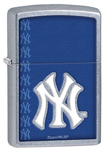 Zippo MLB New York Yankees Street Chrome Pocket Lighter