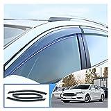 Deflectores de Viento Ventana De Humo De Coche Sol De Rain Visera Deflector Accesorios Guardia 4pcs para Ford Mondeo 2014-2019