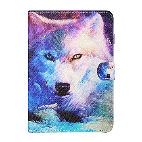 Universal Case for 9-10.1 Inch Tablet Stand Cover Protective Shell for Fire HD 10 Huawei MediaPad T3/T5 10 Fusion5 10.1' iPad 10.2 2019 Galaxy Tab A 10.1/Tab E 9.6 Lenovo Tab 3 (White)