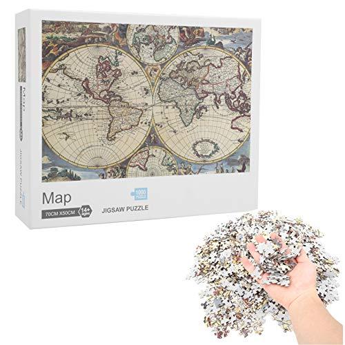Quebra-cabeça de mapas Habilidades de resolução de problemas Crianças interessantes Quebra-cabeça para amigos da casa colegas de classe Crianças((map))