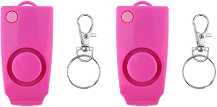 Homyl 2x Anti-rape Device Alarm Tool Loud Attack Keychain Personal Security