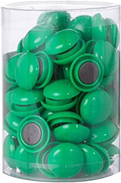 80 Pcs Magnets Whiteboard Magnets Heavy Duty Office Round Magnets For Home Office Kitchen Refrigerator Whiteboard Magnet Set Multiple Colors Green