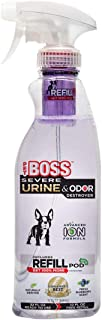Pet Boss Severe Pet Stain & Odor Remover | Advanced ION Formula - Faster More Effective Cleaning | - Free R...