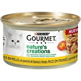 Nestlé Purina Gourmet Nature's Creation Comida húmeda para Gatos Pollo 24 x 85 g - Pack de 24