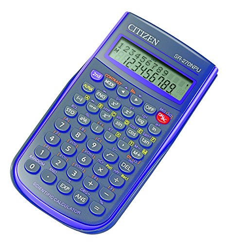 Citizen SR270NPU Calculatrice