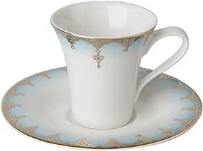 Porland Mahpeyker Tabaklı Kahve Fincanı, Porselen