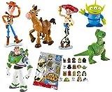 Comansi Lote 6 Figuras Bullyland Toy Story - Woody - Buzz Lightyear - Jessy - Perdigón - Rex - Alien + Regalo
