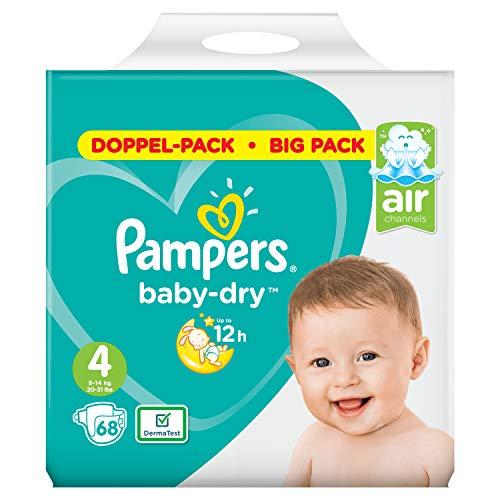 Pampers Baby-Dry Größe4, 68Windeln