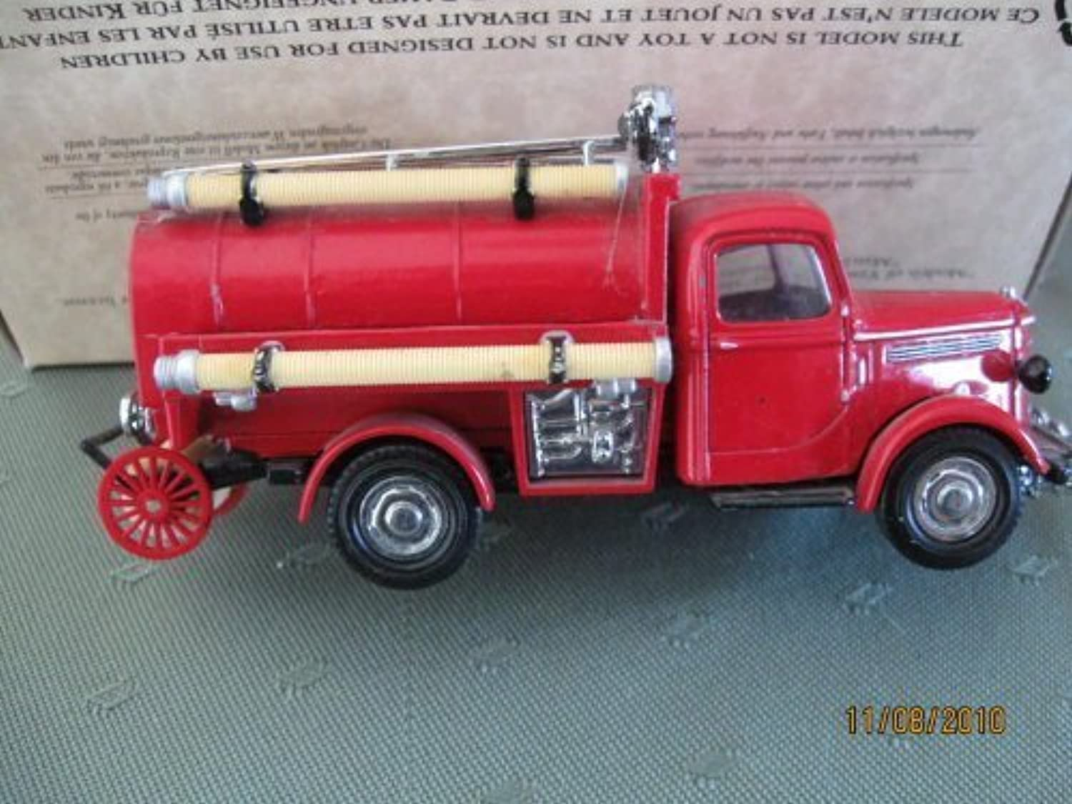 Matchbox1939 Bedford Tanker Fire Truck Models of Yesteryear Series by Matchbox by Matchbox