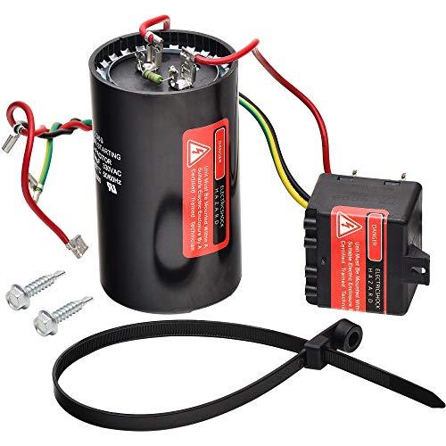 5-2-1 CSR-U3 Compressor Saver AC Hard Start Capacitor by Blue Stars - Compatible for 4 to 5 Ton Units, Hvac Hard Start Kit