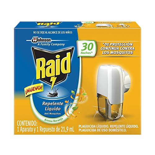 aparato antimosquitos fabricante Raid