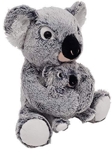 Heunec 247673 Misanimo Koala - Oso con niño, 27 cm, Multicolor