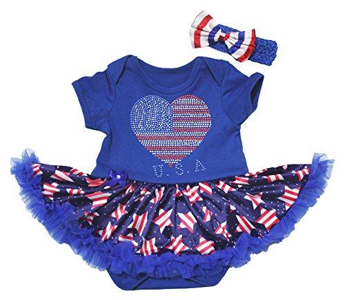Petitebelle - Body - Bébé (fille) 0 à 24 mois bleu bleu 0-3 mois - bleu - taille unique