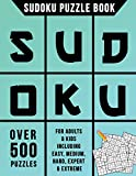 Sudoku Puzzle Book: Over 500 Puzzles for Adults & Kids Including Easy, Medium