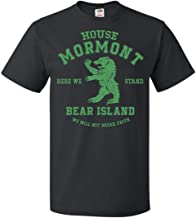House Mormont Hear We Stand Bear Island Game of Thrones T-Shirt for Mens Womens Fans Up to 5XL
