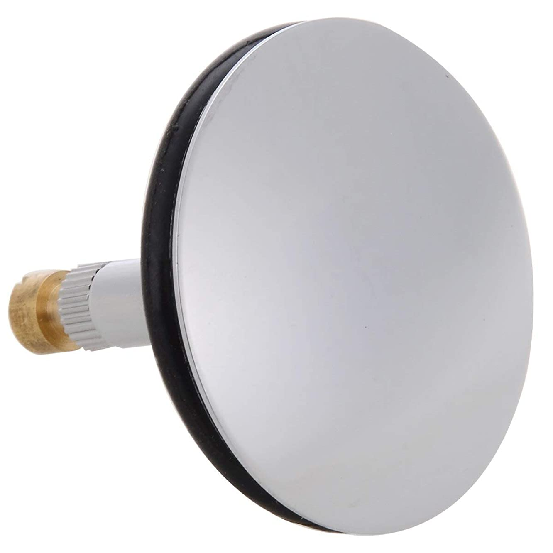 Ants-Store - 1pc 43mm Brass Bathtub Plug Drain Plug Valve Bathtub Drain Pop Up Stopper Replacement Bathroom Tub Drain Drainer Strainer