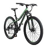 BIKESTAR Hardtail Mountain Bike in Alluminio, Freni a Disco, 27.5' | Bicicletta MTB Telaio 17' Cambio...