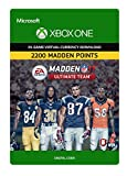 Madden NFL 17: MUT 2200 Madden Points Pack - Xbox One Digital Code