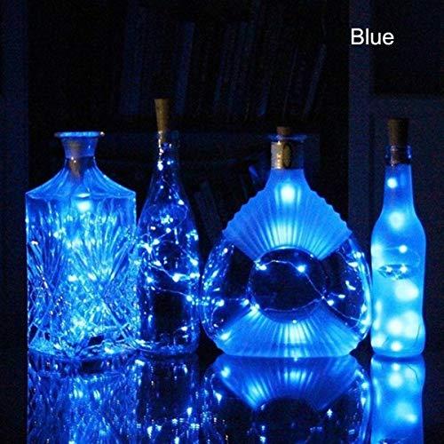 Daxoon Luces para Botella de Vino con Corcho