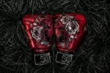Genuine New Fairtex Boxing Gloves Golden Jubilee 50th Anniversary Limited Edition(No Box) (12oz)