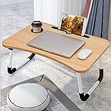 Tavolo pieghevole per computer portatile, ideale anche come tavolo per lettura e vassoio p...