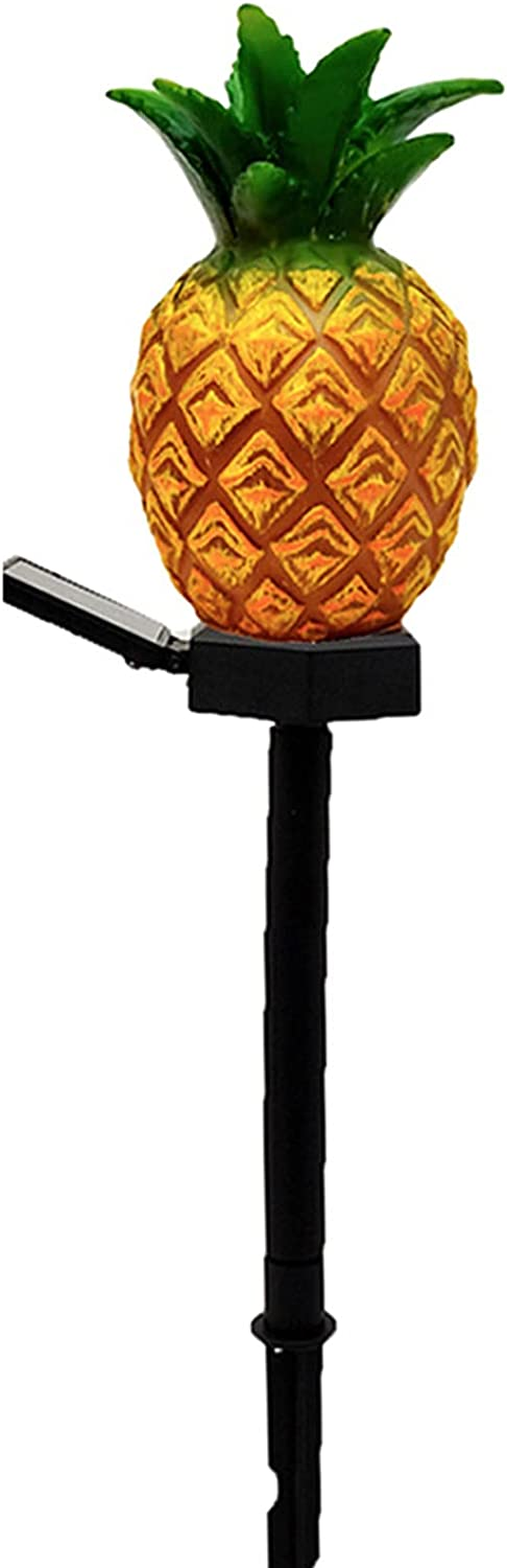 HCYY Outdoor Solar Lamps Limited time for free shipping Pineapple Out Austin Mall Ground Plug Light
