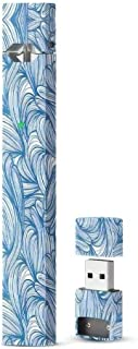Juul Skin   Juul Decal   JUUL Sticker   JUUL Wrap   Variety Colors (Blue Swirl)