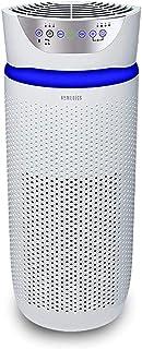 HoMedics AP-T45-WT - Purificador de aire para torre, habitación extra grande (343 pies cuadrados), color blanco