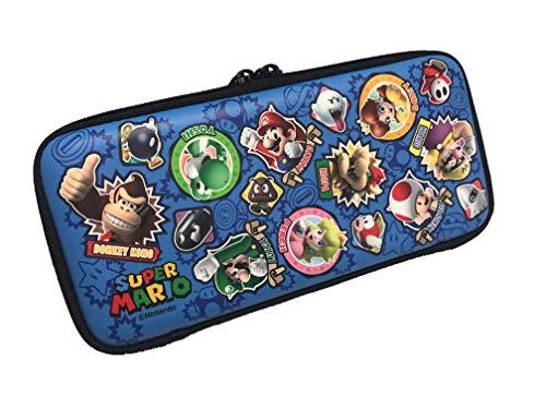 【任天堂ライセンス商品】Nintendo Switch専用 スマートポーチEVA  スーパーマリオ ワッペン