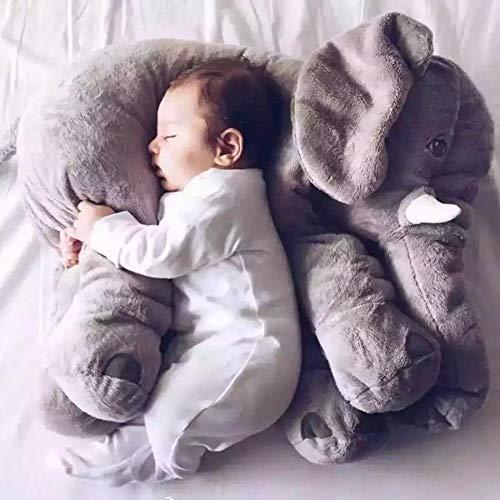 Cuscino per neonati, cuscino per allattamento, cuscino per bambini, a forma di elefante, per donne incinte, cuscino per bambini, 60 cm