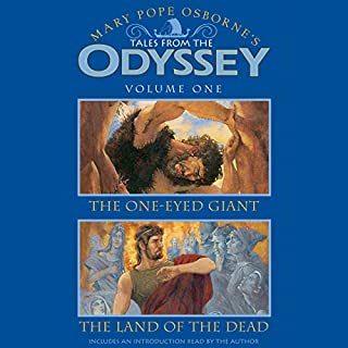 Tales from the Odyssey     Volume 1              By:                                                                                                                                 Mary Pope Osborne                               Narrated by:                                                                                                                                 James Simmons                      Length: 1 hr and 49 mins     47 ratings     Overall 4.5