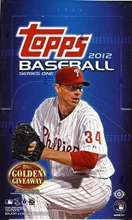 2012 topps baseball series 1
