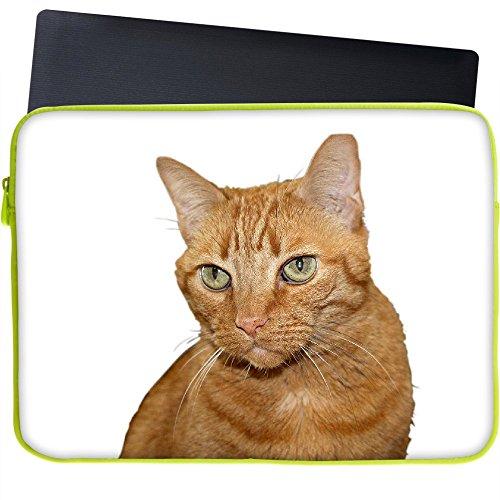 Snoogg Katze 38,1cm Zoll auf 39,4cm Zoll auf 39,6cm Zoll Laptop Notebook Schuber Sleeve Soft Hülle, der Fall für MacBook Pro Acer Asus Dell HP Sony Toshiba